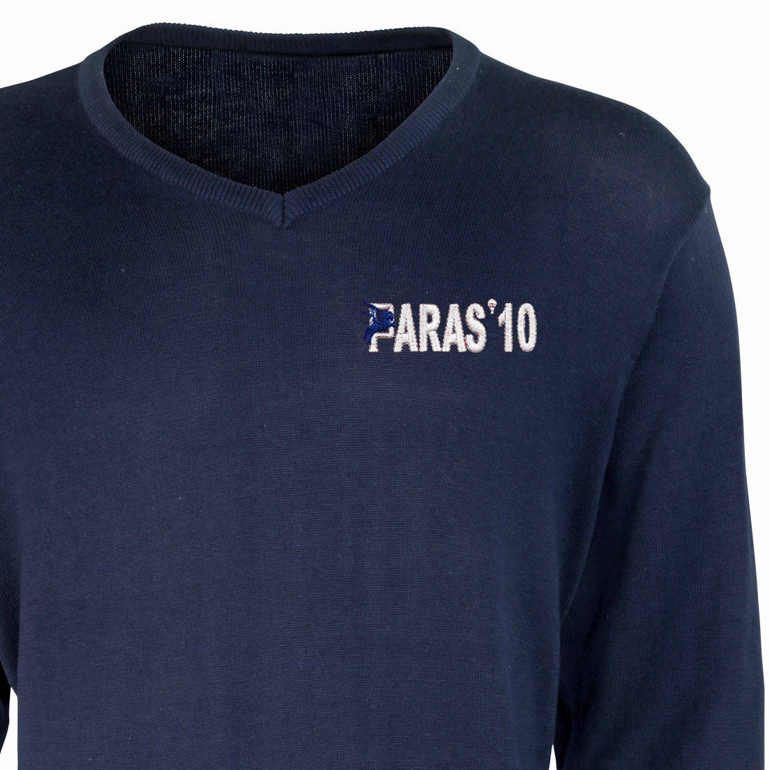 V-Neck Pullover / Sweater - Navy - Paras 10