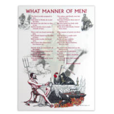 What Manner Of Men! By Craig Johnson (Print)