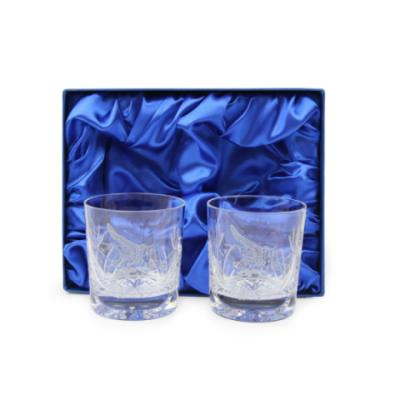 Pegasus Whisky Glasses (Pair) In Gift Box