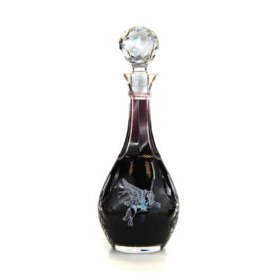 Panel Cut Wine Decanter